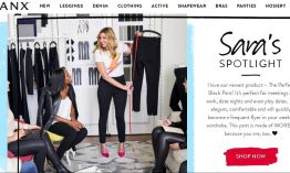 Wie die Spanx-Gründerin Sara Blakely mit 5.000$ ein Multi-Million-Dollar Business gründete