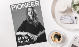 "Coverstory mit Changemaker & Pionierin Maxi Knust: ""I wanted to become active and be a driving force of change myself."""