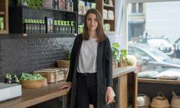 """Laura Rath, Gründerin der Naturkosmetik-Marke Hej Organic: """"Wir wollen den Wandel der Welt beschleunigen, sich nachhaltiger zu pflegen."""""""